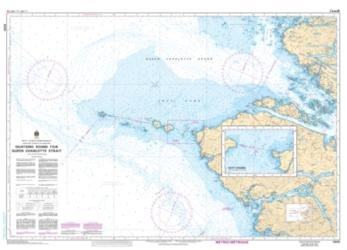 QUATSINO SOUND TO/A QUEEN CHARLOTTE STRAIT (3605) by Canadian Hydrographic Service