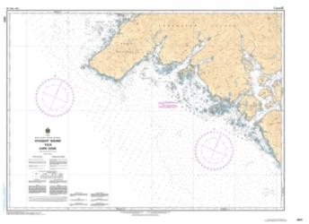 KYUQUOT SOUND TO/A CAPE COOK (3623) by Canadian Hydrographic Service