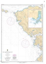 CAPE COOK TO CAPE SCOTT (3624) by Canadian Hydrographic Service