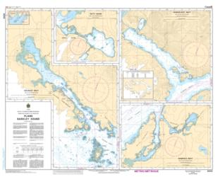 PLANS - BARKLEY SOUND (3646) by Canadian Hydrographic Service