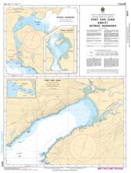 PORT SAN JUAN AND/ET NITINAT NARROWS (3647) by Canadian Hydrographic Service