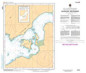 SCOULER ENTRANCE (3651) by Canadian Hydrographic Service