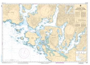 CLAYOQUOT SOUND, TOFINO INLET TO/A MILLAR CHANNEL (3673) by Canadian Hydrographic Service