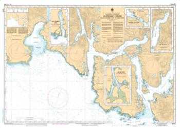 MILLAR CHANNEL TO/A ESTEVAN POINT (3674) by Canadian Hydrographic Service