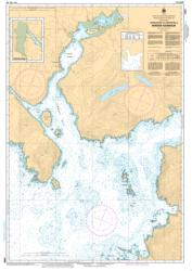 APPROACHES TO/APPROCHES A WINTER HARBOUR (3686) by Canadian Hydrographic Service