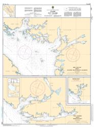 PLANS PITT ISLAND (3721) by Canadian Hydrographic Service