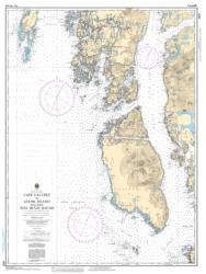 CAPE CALVERT TO GOOSE ISLAND INCLUDING FITZ HUGH SOUND (3727) by Canadian Hydrographic Service