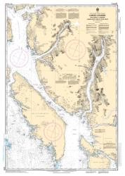 LAREDO CHANNEL INCLUDING/Y COMPRIS LAREDO INLET AND/ET SURF INLET (3737) by Canadian Hydrographic Service