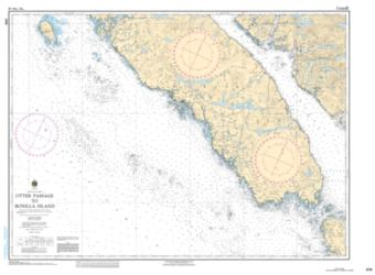 OTTER PASSAGE TO BONILLA ISLAND (3741) by Canadian Hydrographic Service