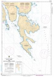 CAPE ST. JAMES TO/A HOUSTON STEWART CHANNEL (3825) by Canadian Hydrographic Service