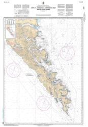 CAPE ST. JAMES TO/A CUMSHEWA INLET AND/ET TASU SOUND (3853) by Canadian Hydrographic Service