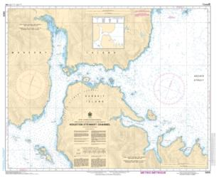 HOUSTON STEWART CHANNEL (3855) by Canadian Hydrographic Service