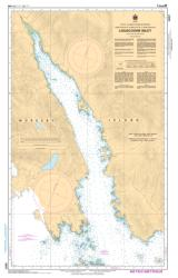 LOUSCOONE INLET (3857) by Canadian Hydrographic Service