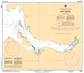 PORT CHANAL (3863) by Canadian Hydrographic Service