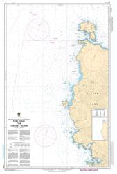 PORT LOUIS TO/A LANGARA ISLAND (3868) by Canadian Hydrographic Service