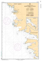 SKIDEGATE CHANNEL TO/A TIAN ROCK (3869) by Canadian Hydrographic Service