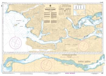 SKIDEGATE CHANNEL (3891) by Canadian Hydrographic Service
