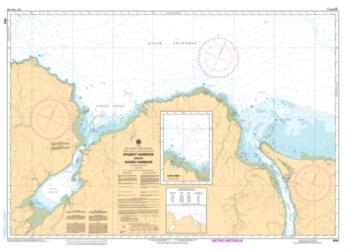 MASSET HARBOUR AND/ET NADEN HARBOUR (3892) by Canadian Hydrographic Service