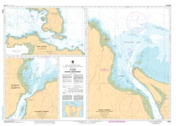 PLANS - DIXON ENTRANCE (3895) by Canadian Hydrographic Service