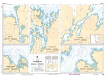 PLANS CHATHAM SOUND (3909) by Canadian Hydrographic Service