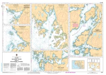 PLANS - MILBANKE SOUND AND/ET BEAUCHEMIN CHANNEL (3910) by Canadian Hydrographic Service