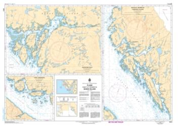 PLANS, VICINITY OF/PROXIMITE DE BANKS ISLAND (3912) by Canadian Hydrographic Service