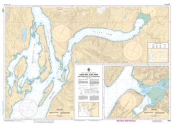 NASS BAY, ALICE ARM AND APPROACHES/ET LES APPROCHES (3920) by Canadian Hydrographic Service