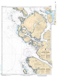 BONILLA ISLAND TO/A EDYE PASSAGE (3978) by Canadian Hydrographic Service