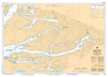 SMITH INLET, BOSWELL INLET AND/ET DRANEY INLET (3931) by Canadian Hydrographic Service
