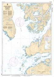 APPROACHES TO/APPROCHES A SMITH SOUND AND/ET RIVERS INLET (3934) by Canadian Hydrographic Service