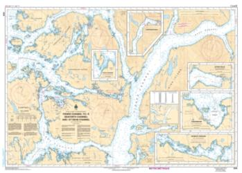 FISHER CHANNEL TO/A SEAFORTH CHANNEL AND/ET DEAN CHANNEL (3939) by Canadian Hydrographic Service