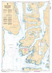 CHANNELS/CHENAUX VICINITY OF/PROXIMITE DE MILBANKE SOUND (3941) by Canadian Hydrographic Service