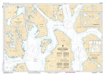 APPROACHES TO/APPROCHES A DOUGLAS CHANNEL (3945) by Canadian Hydrographic Service