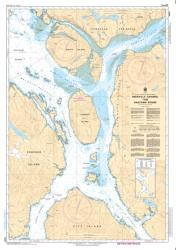 GRENVILLE CHANNEL TO/A CHATHAM SOUND (3947) by Canadian Hydrographic Service