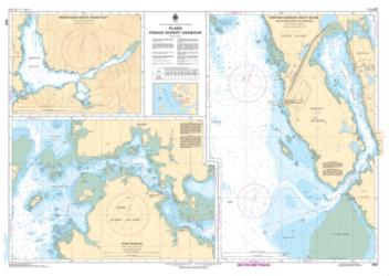 PLANS - PRINCE RUPERT HARBOUR (3955) by Canadian Hydrographic Service
