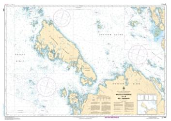 MALACCA PASSAGE TO/A BELL PASSAGE (3956) by Canadian Hydrographic Service