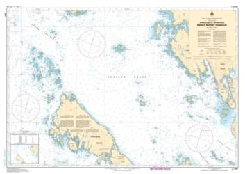 APPROACHES TO/APPROCHES A PRINCE RUPERT HARBOUR (3957) by Canadian Hydrographic Service