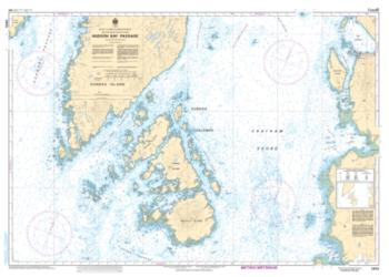 HUDSON BAY PASSAGE (3959) by Canadian Hydrographic Service