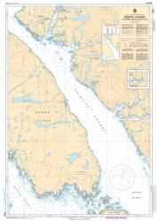 PRINCIPE CHANNEL SOUTHERN PORTION/PARTIE SUD (3984) by Canadian Hydrographic Service