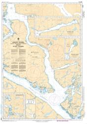 PRINCIPE CHANNEL CENTRAL PORTION/PARTIE CENTRALE AND/ET PETREL CHANNEL (3985) by Canadian Hydrographic Service