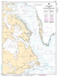 GULF OF MAINE TO/A BAFFIN BAY / BAIE DE BAFFIN (4000) by Canadian Hydrographic Service