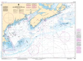 CAPE BRETON TO/A CAPE COD (4003) by Canadian Hydrographic Service