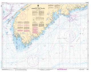 YARMOUTH TO/A HALIFAX (4012) by Canadian Hydrographic Service