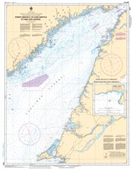 POINTE AMOUR A/TO CAPE WHITTLE ET/AND CAPE GEORGE (4021) by Canadian Hydrographic Service