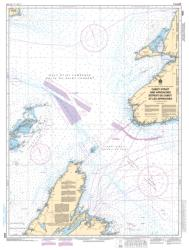 CABOT STRAIT AND APPROACHES / DETROIT DE CABOT ET LES APPROCHES, SCATARIE ISLAND TO/A ANTICOSTI ISLAND / ILE D'ANTICOSTI (4022) by Canadian Hydrographic Service