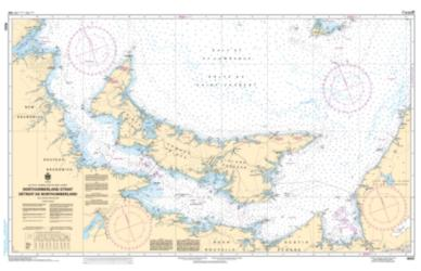 NORTHUMBERLAND STRAIT / DETROIT DE NORTHUMBERLAND (4023) by Canadian Hydrographic Service