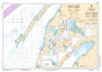 ST. MARYS BAY (4118) by Canadian Hydrographic Service
