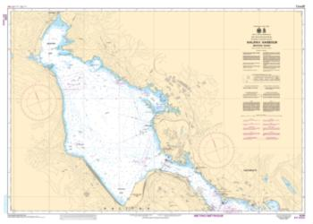 HALIFAX HARBOUR - BEDFORD BASIN (4201) by Canadian Hydrographic Service