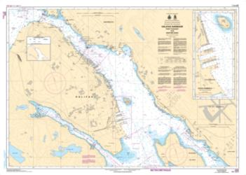 HALIFAX HARBOUR - POINT PLEASANT TO/A BEDFORD BASIN (4202) by Canadian Hydrographic Service
