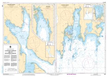 LOCKEPORT HARBOUR AND/ET SHELBURNE HARBOUR (4209) by Canadian Hydrographic Service